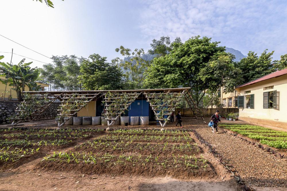 Vietnam Okullarına Tuvalet Projesi