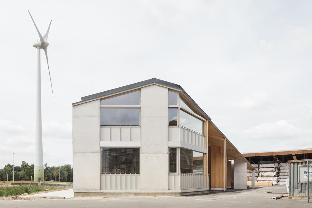 Van Hoorebeke Karşılama ve Yönetim Binası