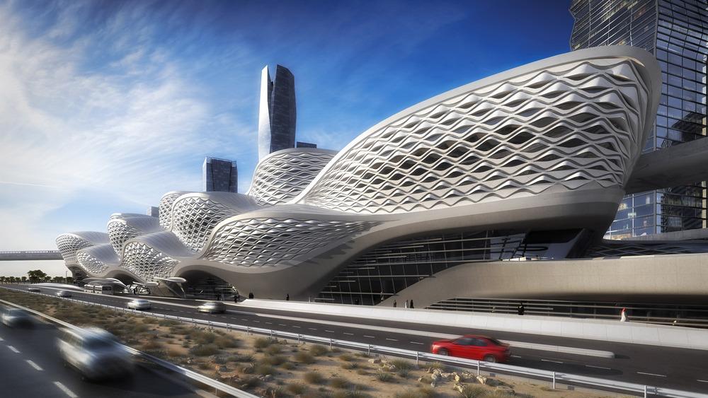 Kral Abdullah Finans Bölgesi Metro İstasyonu