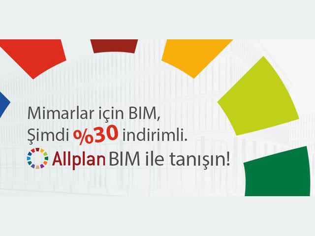 Allplan 2013 BIM Şimdi %30 İndirimli