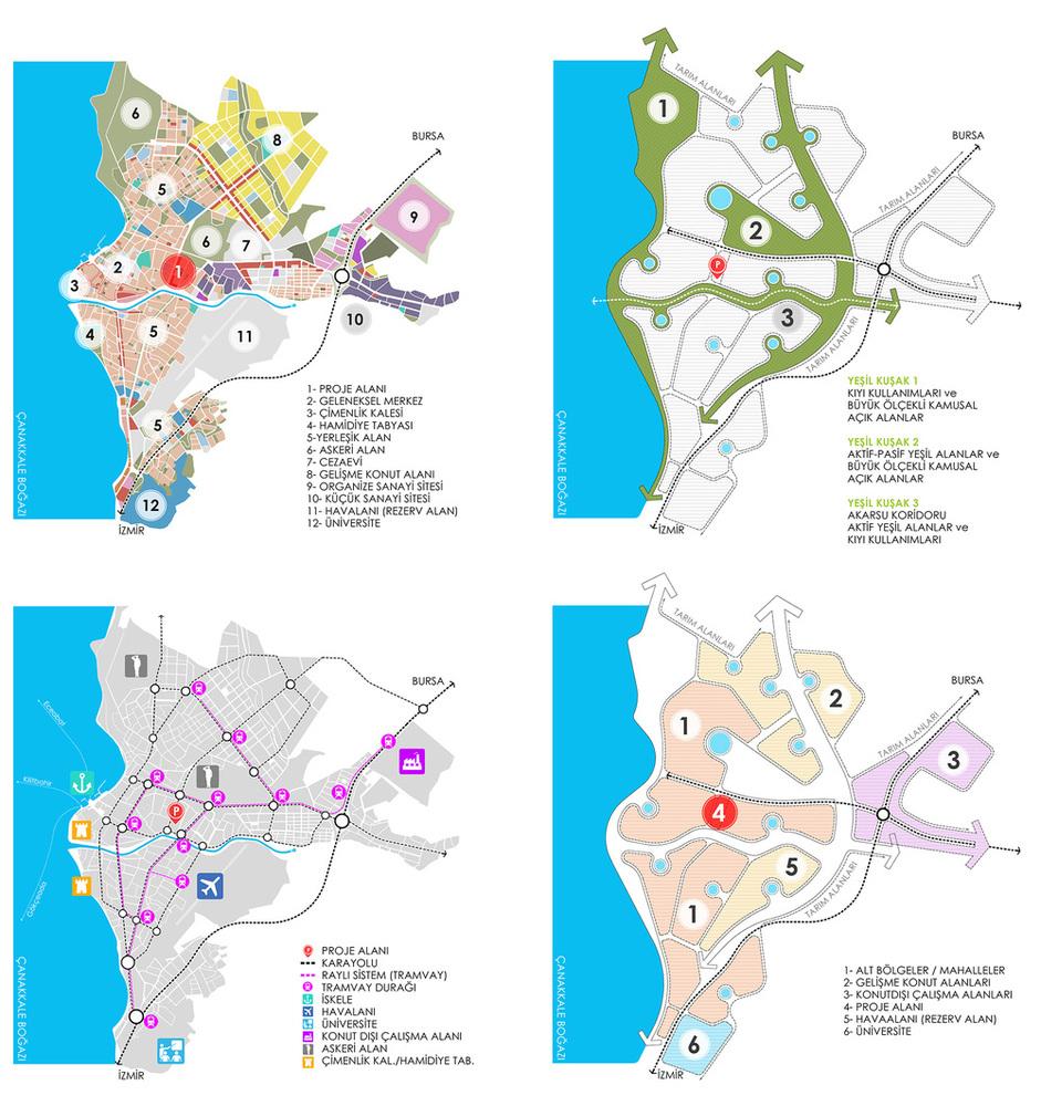 1. Ödül, Çanakkale Belediyesi Sosyal Konutlar Mevkii Kentsel Yenileme Ulusal Mimari Proje Yarışması