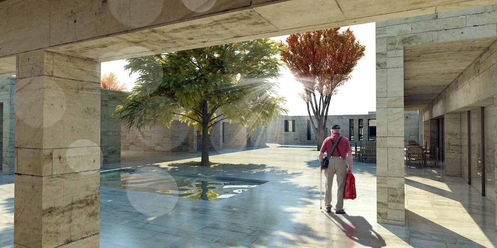 1. Mansiyon, Adıyaman Aktif Yaşam Merkezi Mimari Proje Yarışması