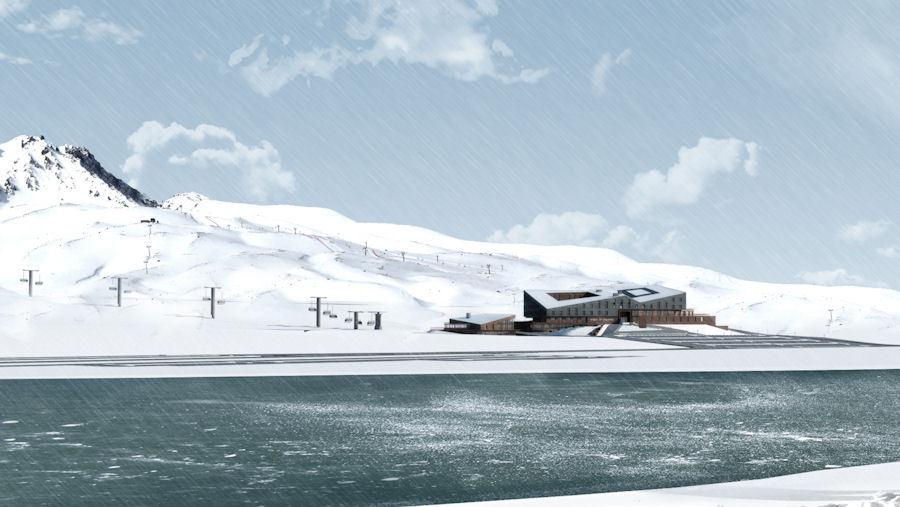 1. Ödül, Argos in Erciyes Davetli Mimari Proje Yarışması