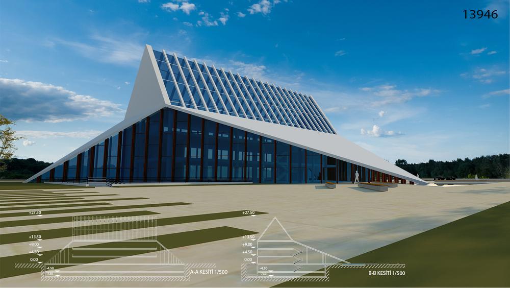 Katılımcı, Kayseri Ticaret Odası Hizmet Binası Ulusal Mimari Fikir Yarışması