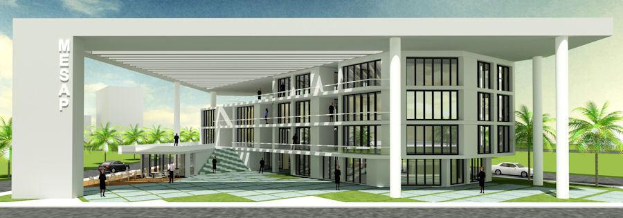 3. Mansiyon, Mersin Sağlık Platformu (MESAP) Hizmet Binası Mimari Proje Yarışması