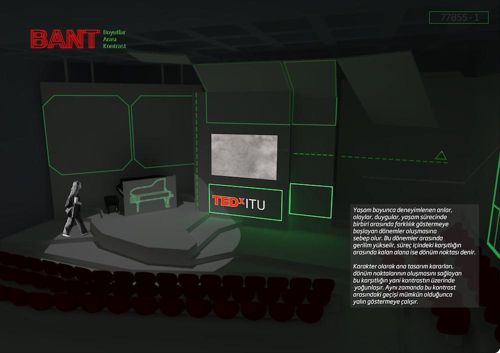 Eşdeğer Ödül, TEDxITU Etkinliği Tasarım Önerileri Öğrenci Yarışması