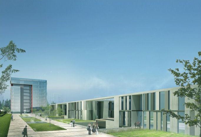 2. Ödül, İstanbul Teknopark Mimari Tasarım ve Yakın Çevre Fikir Yarışması