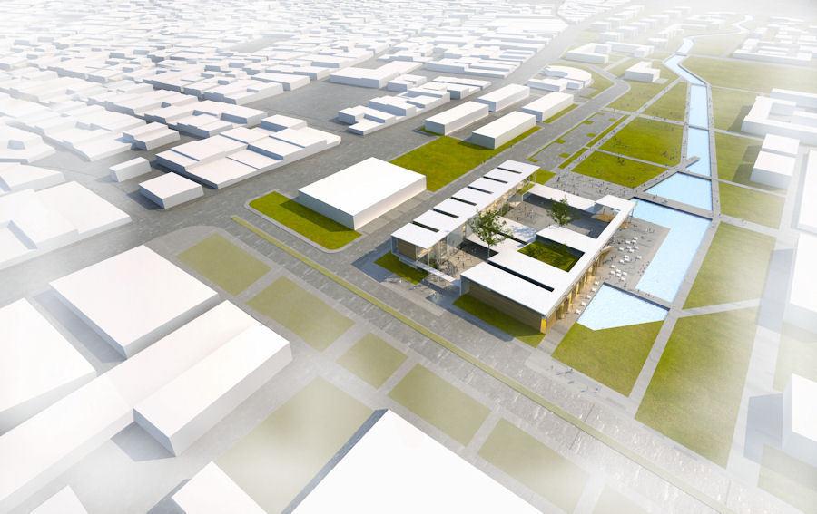 1. Ödül, Uşak Belediyesi Hizmet Binası Mimari Proje Yarışması