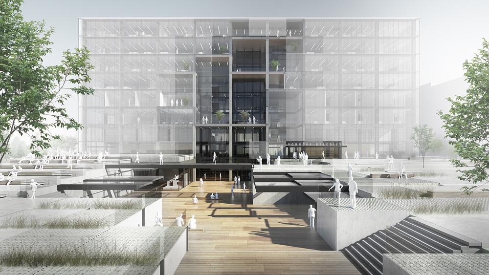 3. Mansiyon (Çırakoğlu Mimarlık), Bornova Belediye Binası ve Çevresi Mimari Proje Yarışması