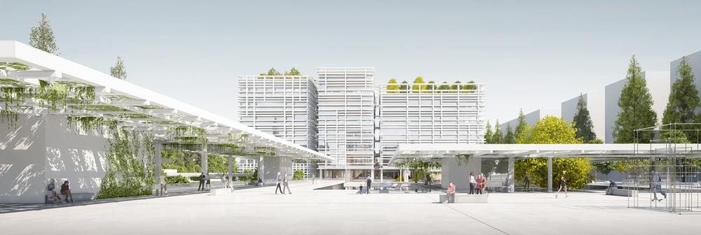 3. Ödül, Bornova Belediye Binası ve Çevresi Mimari Proje Yarışması