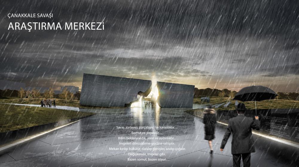 2. Mansiyon, Çanakkale Savaşı Araştırma Merkezi Mimari Proje Yarışması
