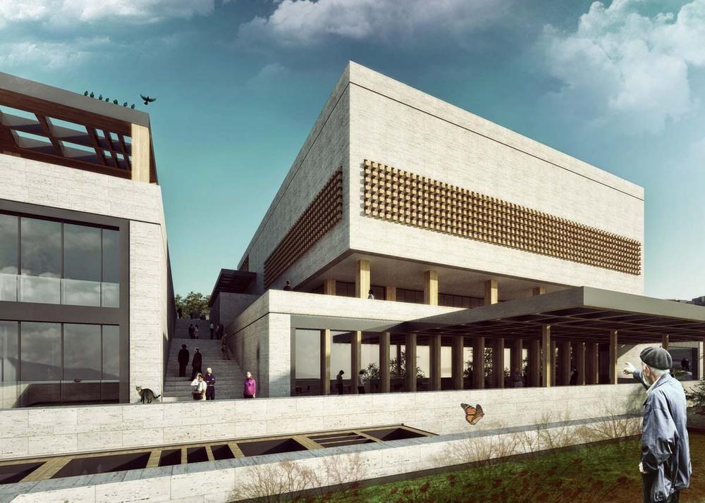 Eşdeğer Mansiyon (Aboutblank), Gülsuyu Cemevi Ulusal Mimari Proje Yarışması