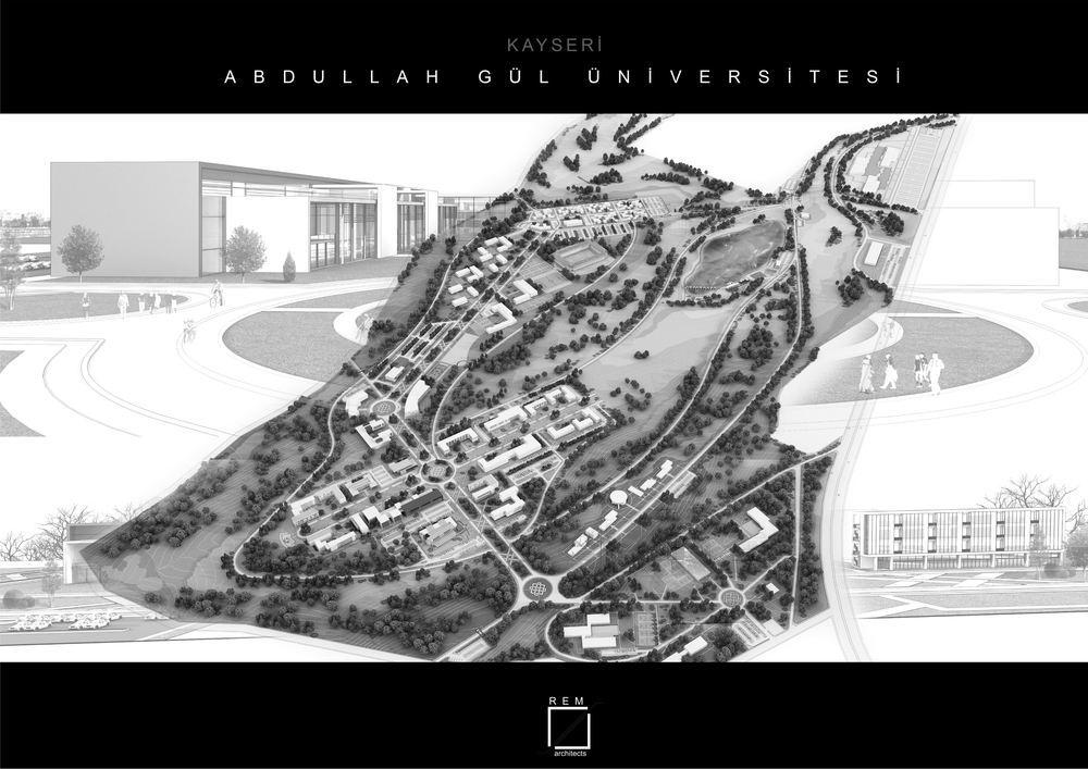 Katılımcı, Kayseri Abdullah Gül Üniversitesi Kampüsü Master Planı Davetli Yarışması