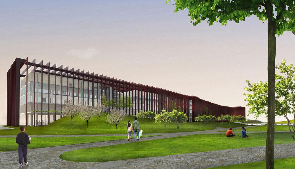 1. Ödül, Manisa Belediyesi Hizmet Binası ve Çevresi Ulusal Mimari Proje Yarışması