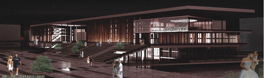 Katılımcı: 44 Sıra Numaralı, Manisa Belediyesi Hizmet Binası ve Çevresi Ulusal Mimari Proje Yarışması