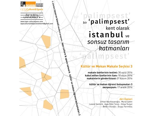 Bir Palimpsest Kent Olarak İstanbul 3. Makale Seçkisi