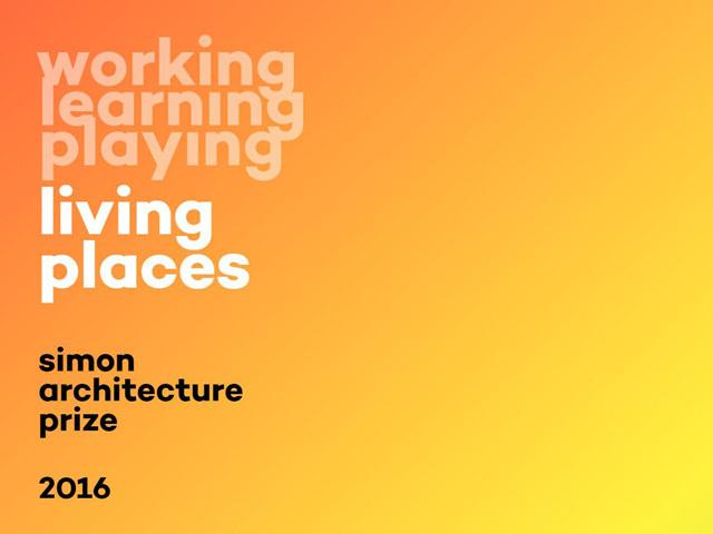 Simon Architecture Prize 2016