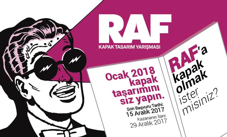 12. RAF Ürün Dergisi Kapak Tasarım Yarışması