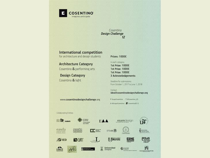 Uluslararası Cosentino Design Challenge Yarışma Başvuruları Başladı