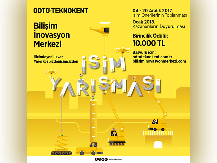 ODTÜ TEKNOKENT Bilişim İnovasyon Merkezi İçin İsim Yarışması