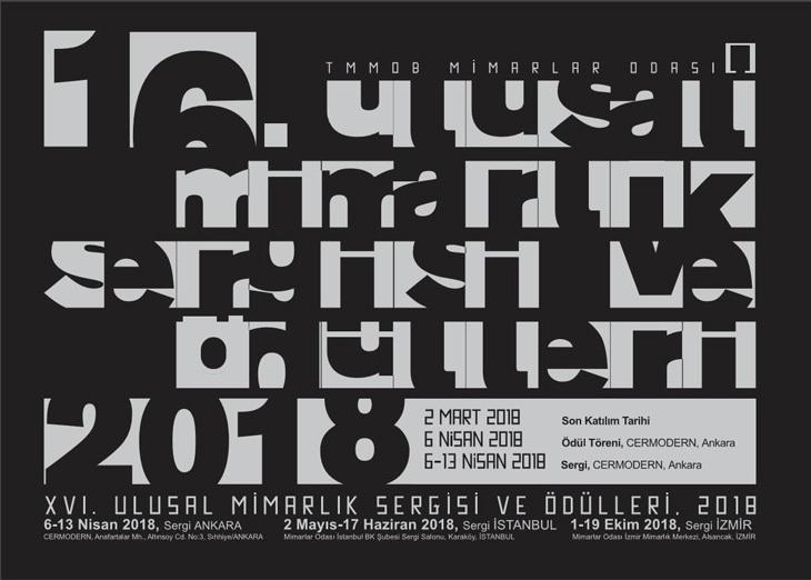 Ulusal Mimarlık Sergisi ve Ödülleri 2018