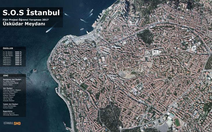 S.O.S İstanbul Fikir Projesi Yarışması 2017: Üsküdar Meydanı Soru ve Cevapları Yayınlandı