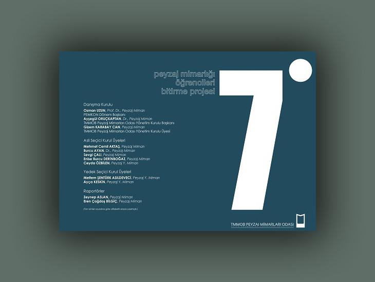 7. Peyzaj Mimarlığı Bölümü Öğrencileri Bitirme Projesi Ödülleri