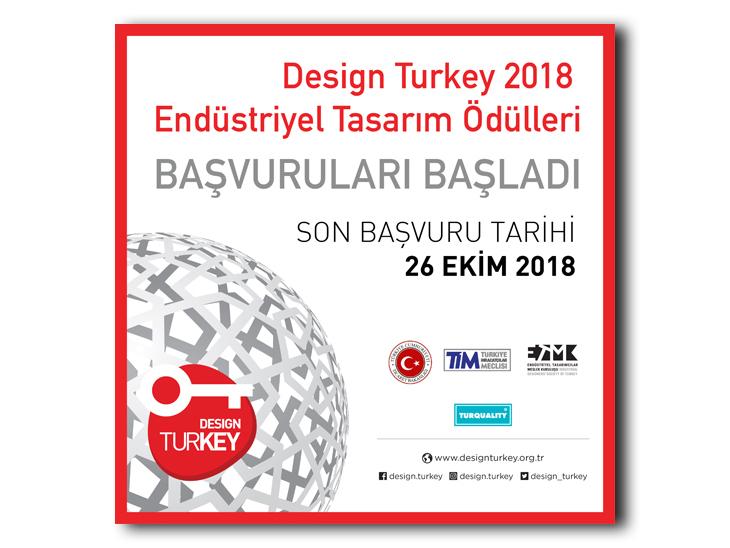 Design Turkey Endüstriyel Tasarım Ödülleri 2018