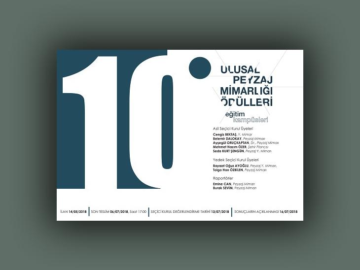 10. Ulusal Peyzaj Mimarlığı Ödülleri