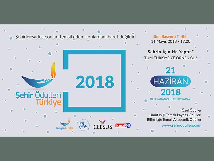 Şehir Ödülleri Türkiye 2018
