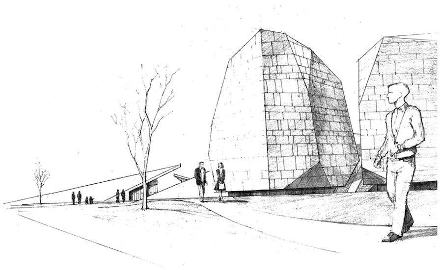 3. Ödül, Bornova Belediyesi Yeşilova Höyüğü Ziyaretçi Merkezi Mimari Proje Yarışması
