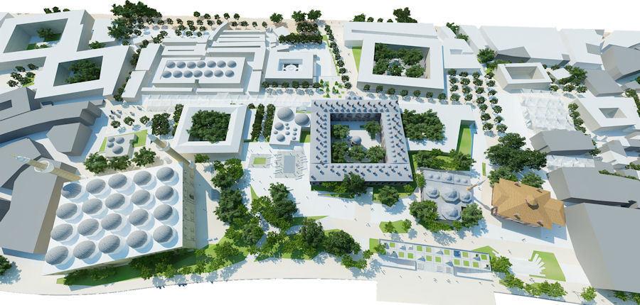 1. Mansiyon, Bursa Büyükşehir Belediyesi Orhangazi Meydanı ve Çevresi Kentsel Tasarım Proje Yarışması