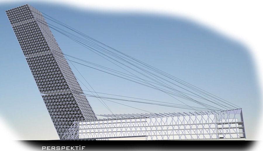 """Katılımcı, Saray Alüminyum """"Yükselen Yetenekler"""" Yarışması: Ataşehir - İstanbul Finans Merkezi Mimari Fikir Projesi Öğrenci Yarışması"""