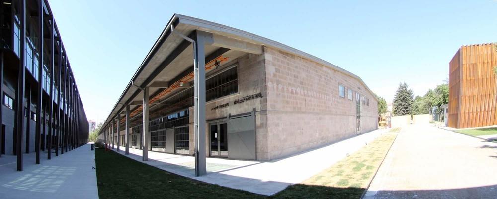AGÜ Sümer Kampüsü Büyük Ambar Binası Restorasyon Projesi