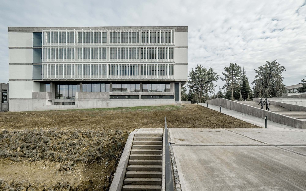 Ankara Fen Lisesi Yenileme ve Ek Binalar Projesi