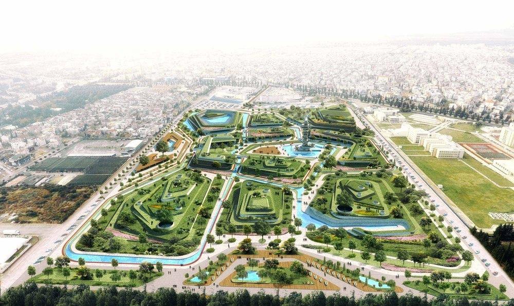 Katılımcı (DNA Mimarlık Nail Atasoy), Antalya Kepez Dokuma Alanı Fikir Projesi Yarışması