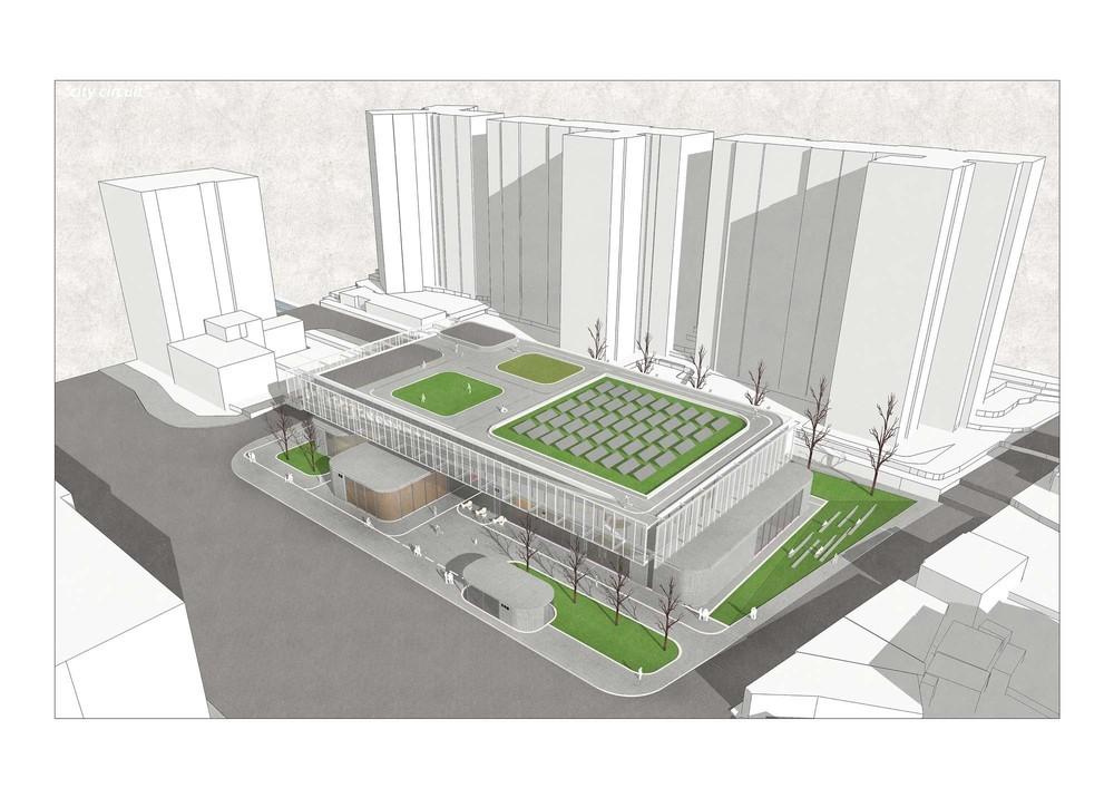 5. Ödül, Design Proposal Competition of Seoul Eoullim Sports Center