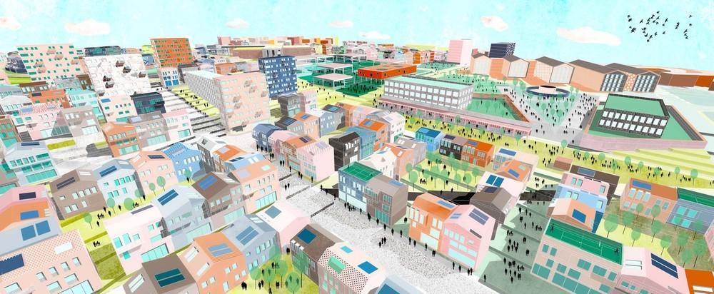 3. Mansiyon, İç Anadolu Bölgesi (Eskişehir), 7 İklim 7 Bölge - Mahalle Ulusal Mimari ve Kentsel Tasarım Fikir Yarışması
