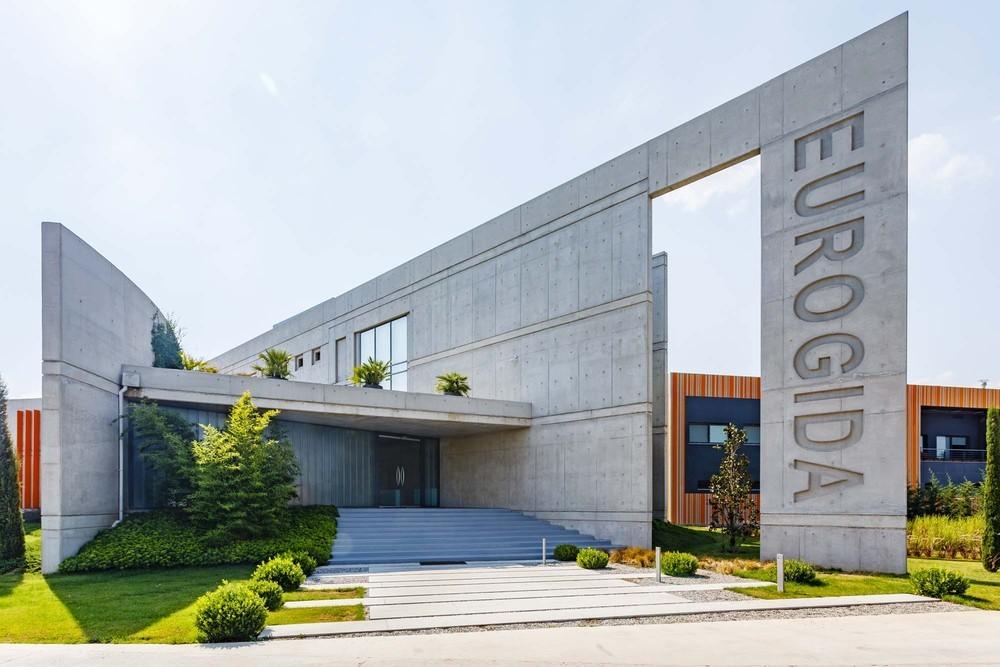 Eurogıda İzmir Kemalpaşa Fabrikası İdari Binası