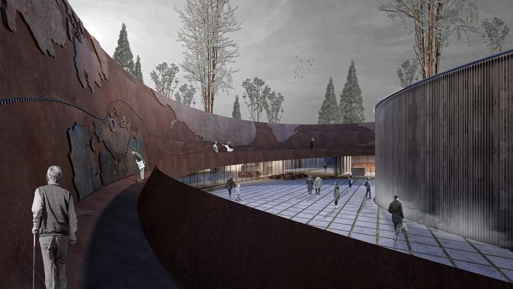 Katılımcı (Tamirci Architects), Kore Savaşı Anma Alanı ve Ziyaretçi Merkezi Mimari Proje Yarışması