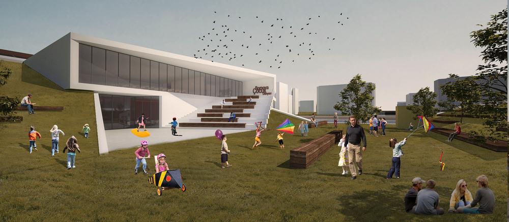 1. Mansiyon, Bornova Çocuk Dünyası Mimari Proje Yarışması