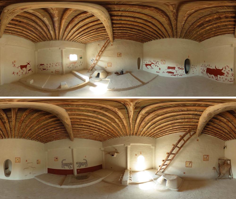 Çatalhöyük'te Dört Yeni Replika Ev