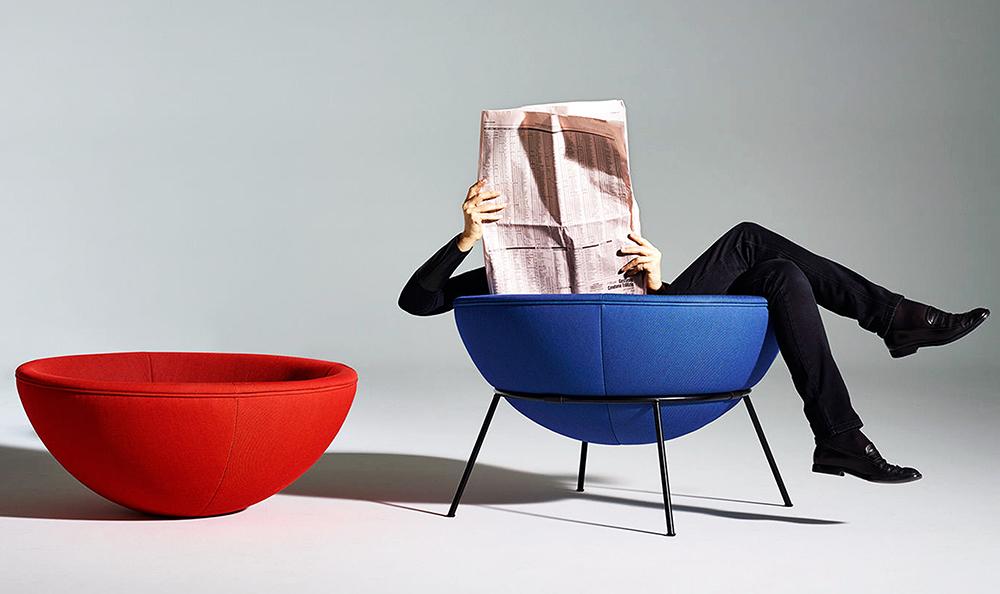 """Mobilya Tarihi Hakkında """"Bilmeseniz de Olur""""luk Hikayeler: Bowl Chair"""
