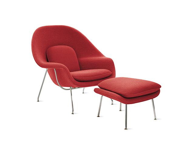 """Mobilya Tarihi Hakkında """"Bilmeseniz de Olur""""luk Hikayeler: Womb Chair"""