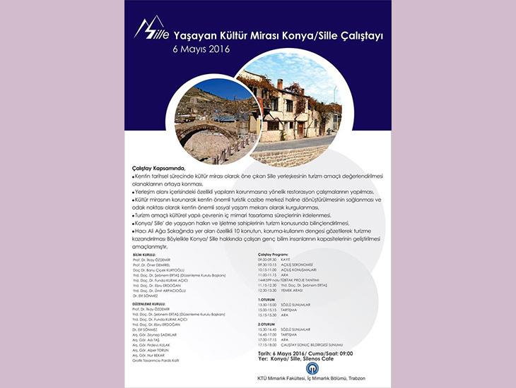 Yaşayan Kültür Mirası Konya/Sille Çalıştayı