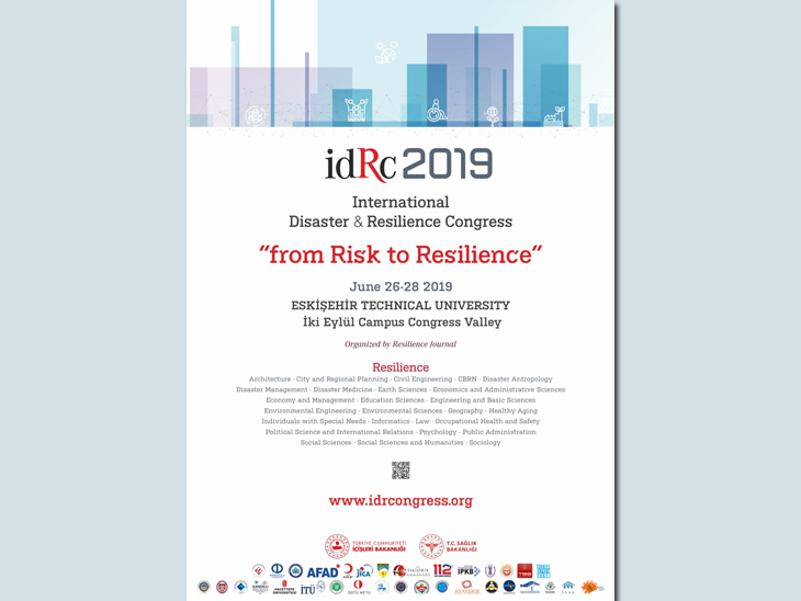 idRc 2019 International Disaster and Resilience Congress