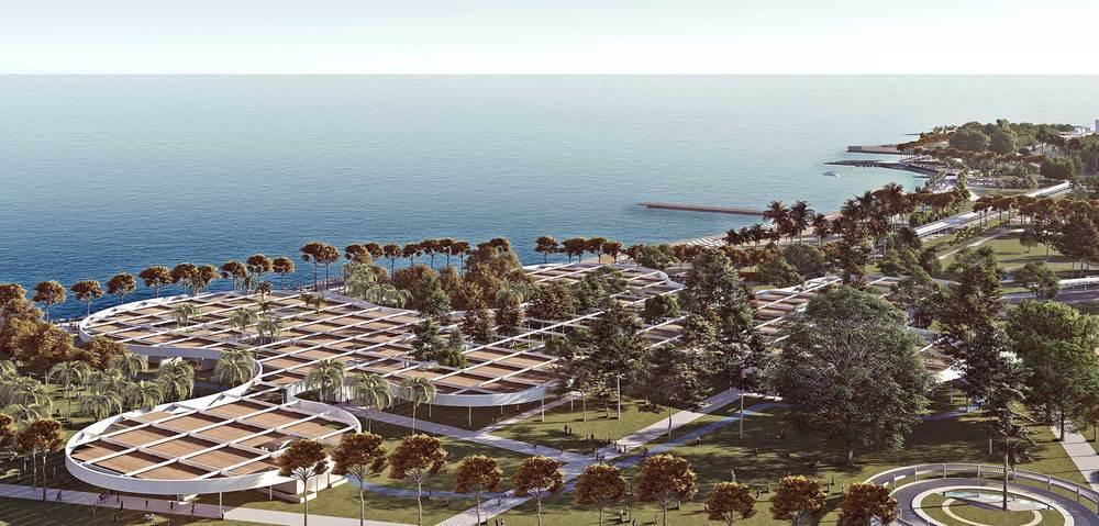 Eşdeğer Ödül (BEOFFICE), Tevfik Sırrı Gür Stadyumu ile Çamlıbel Limanı Fikir Projesi Yarışması
