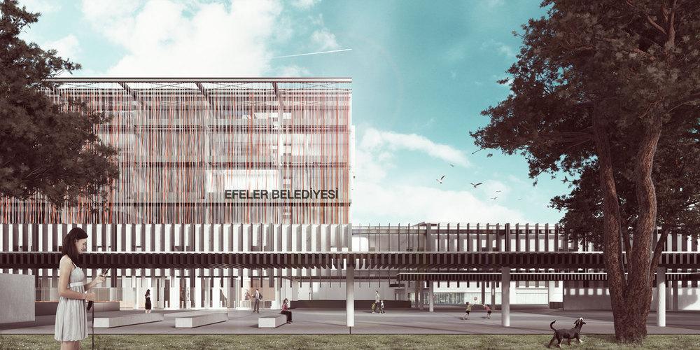 1. Mansiyon, Efeler Belediyesi Hizmet Binası Mimari Proje Yarışması