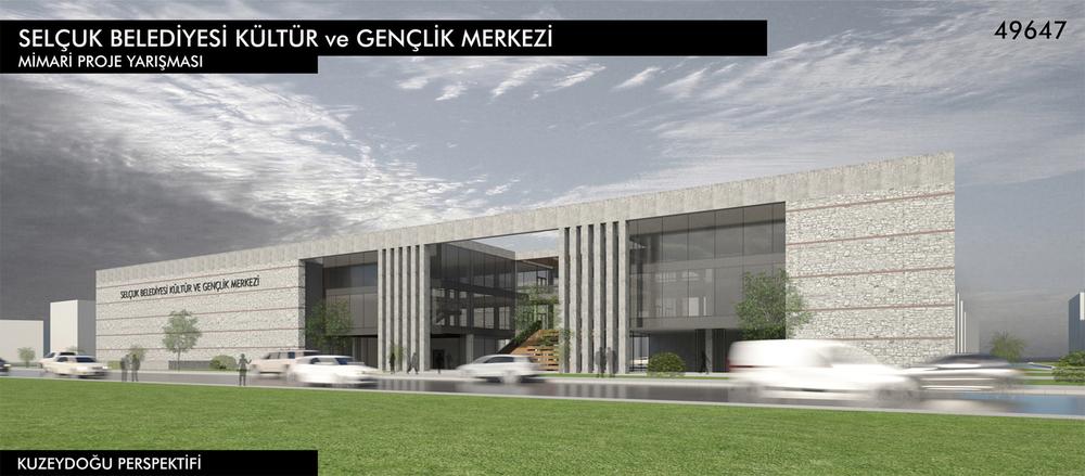Katılımcı (49647), İzmir Selçuk Belediyesi Kültür ve Gençlik Merkezi Yarışması