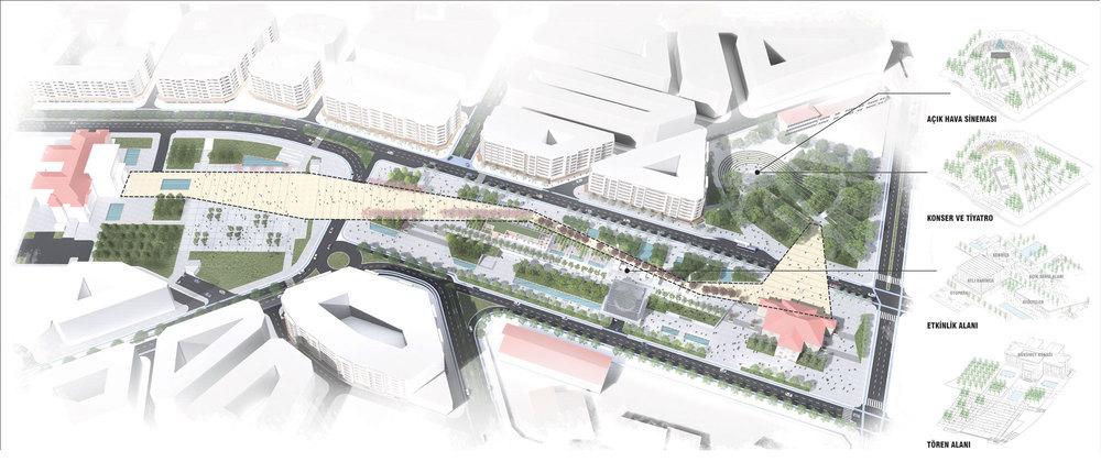 2. Mansiyon, Elazığ Belediyesi Kent Meydanı Kentsel Tasarım Yarışması